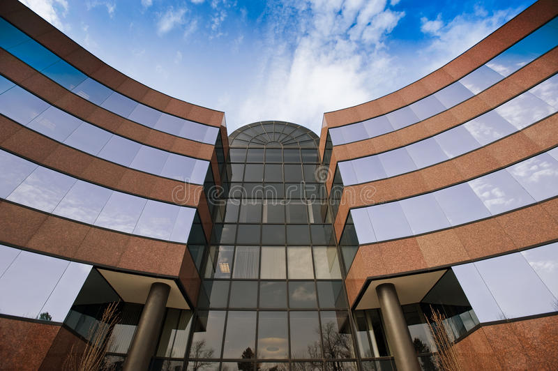 Download Office building exterior stock photo. Image of large - 19058356