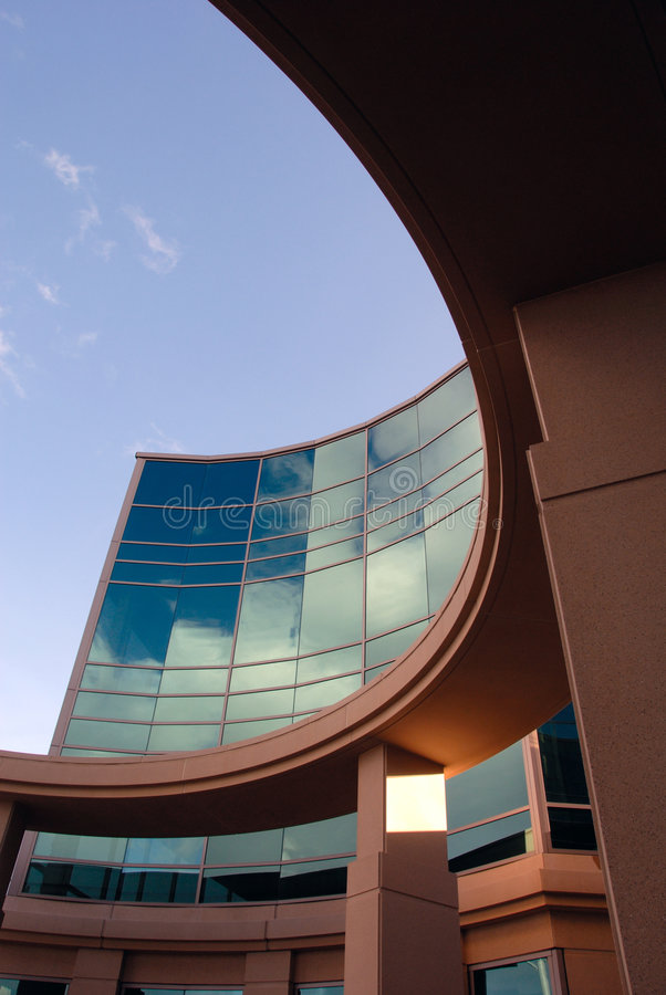 Free Office Building Exterior Stock Image - 4262161