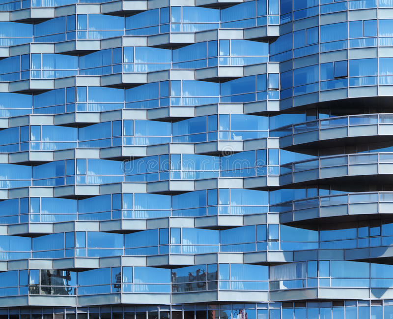 Download Office Building Facade stock image. Image of blue, glass - 26627239