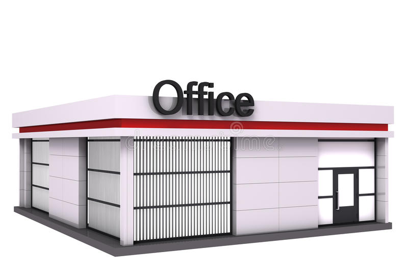 Download The Office Building. Royalty Free Stock Photography - Image: 32033417