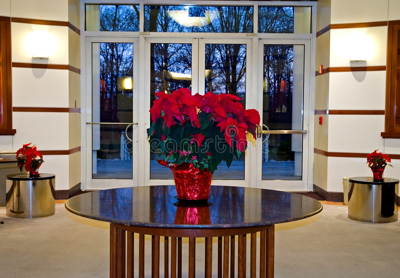 Office Building Lobby stock photography