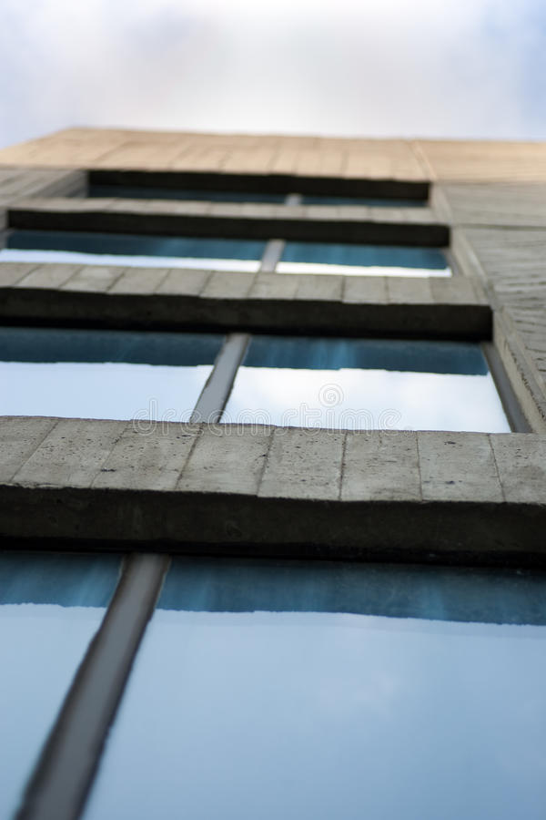 Download Office building looking up stock photo. Image of reflection - 9673034