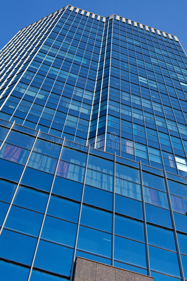 Download Office Building  Over Blue Sky Background Stock Image - Image: 26080573