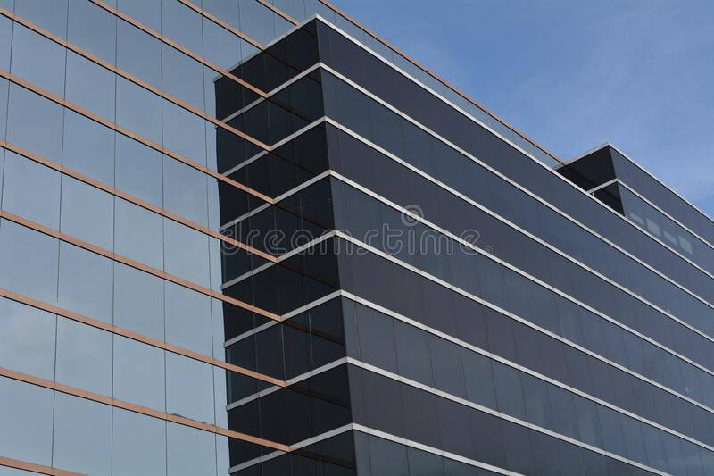 Office Building wall in Vancouver, Washington royalty free stock photography