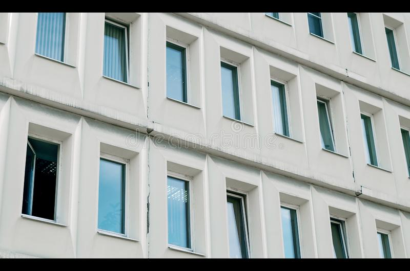 Office building windows. royalty free stock photo
