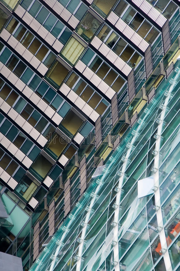 Office buildings stock photography