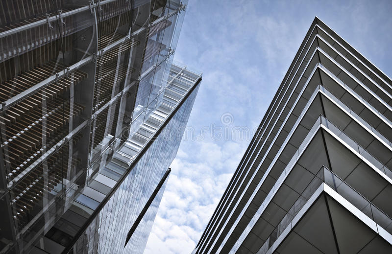 Download Office buildings stock image. Image of work, facade, place - 18339535