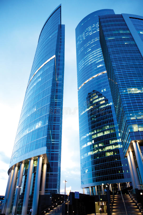 Download Office buildings stock image. Image of rise, centre, altitude - 24901231
