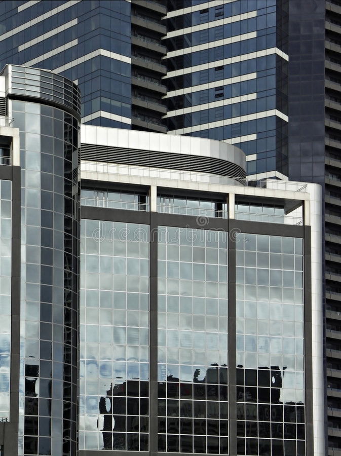 Download Office Buildings stock image. Image of windows, reflection - 2614177