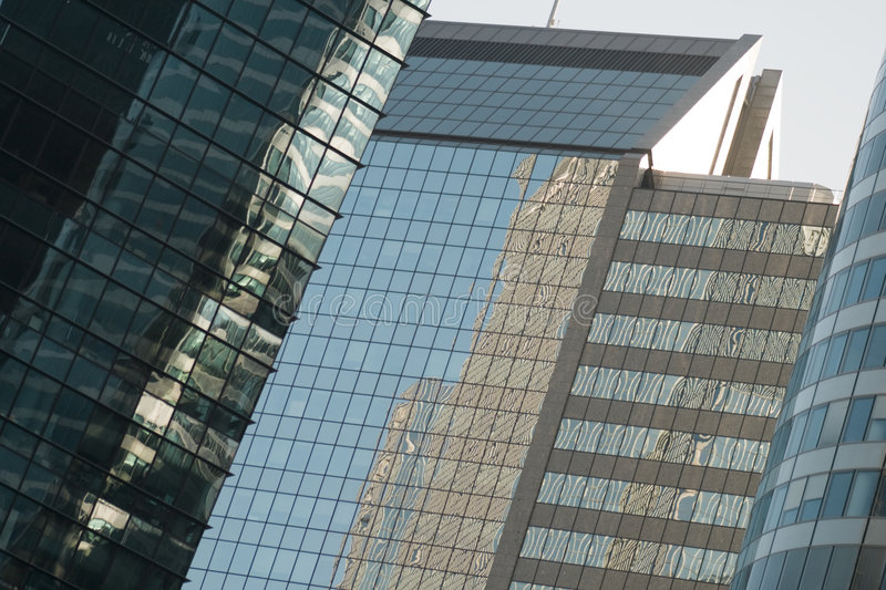 Download Office buildings stock image. Image of window, reflection - 3424025