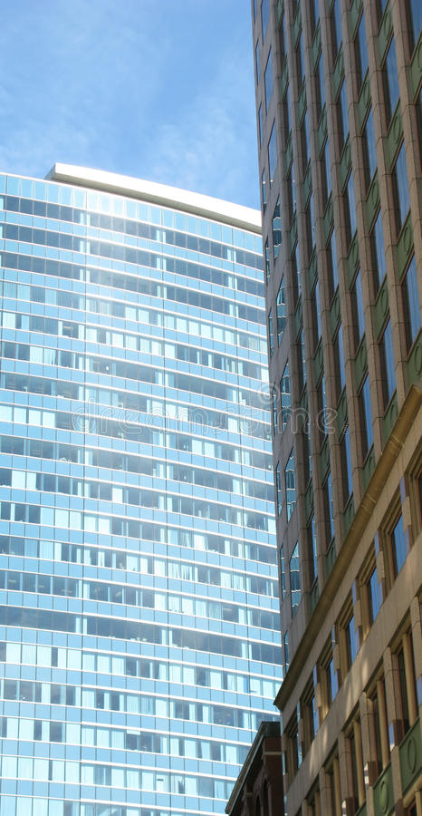 Download Office buildings in Boston stock image. Image of offices - 12187223