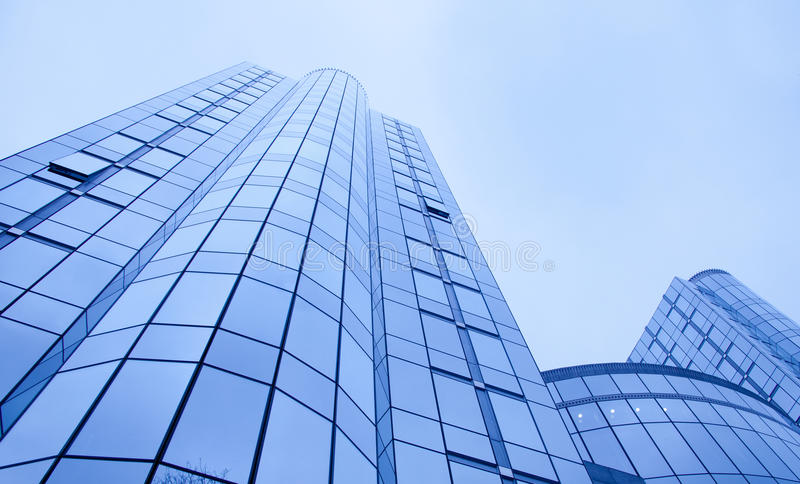 Office buildings business background stock images