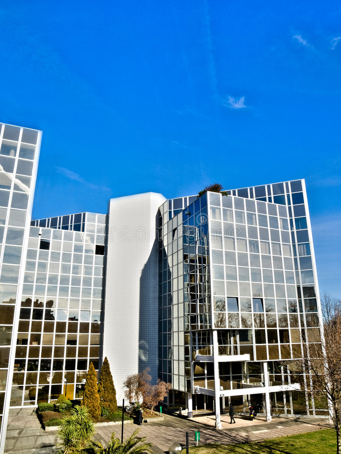 Download Office buildings complex stock image. Image of structure - 7992993