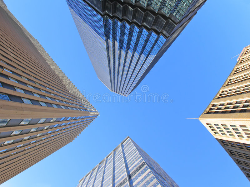 Download Office Buildings In Downtown Stock Photo - Image: 3479988