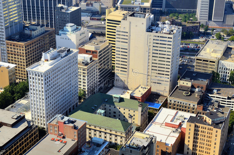 Download Office Buildings In Downtown Atlanta Stock Photo - Image: 24000544