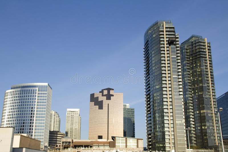 Download Modern office buildings stock photo. Image of shapes - 30114214