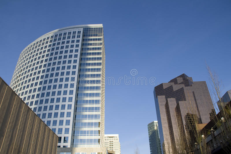 Download Modern office buildings stock photo. Image of blue, development - 30114474