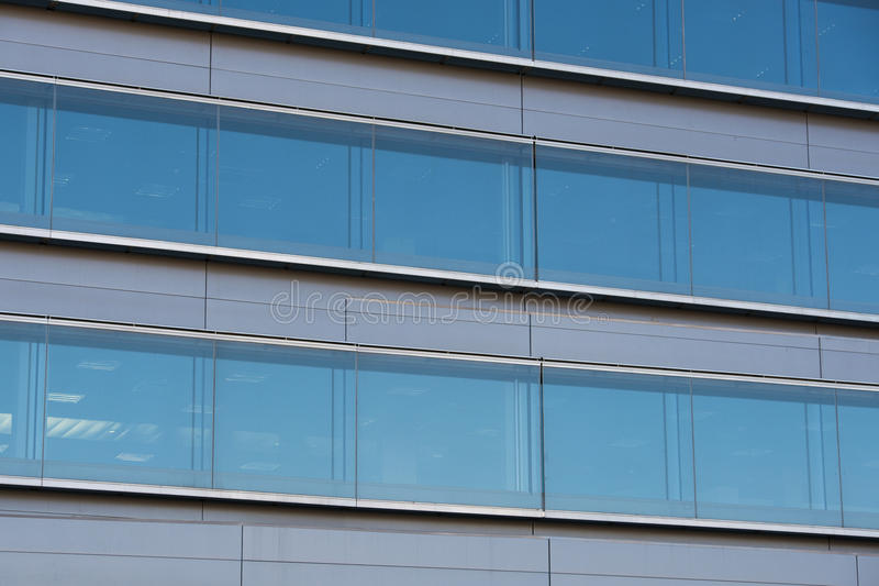 Office buildings with modern corporate architecture stock photo