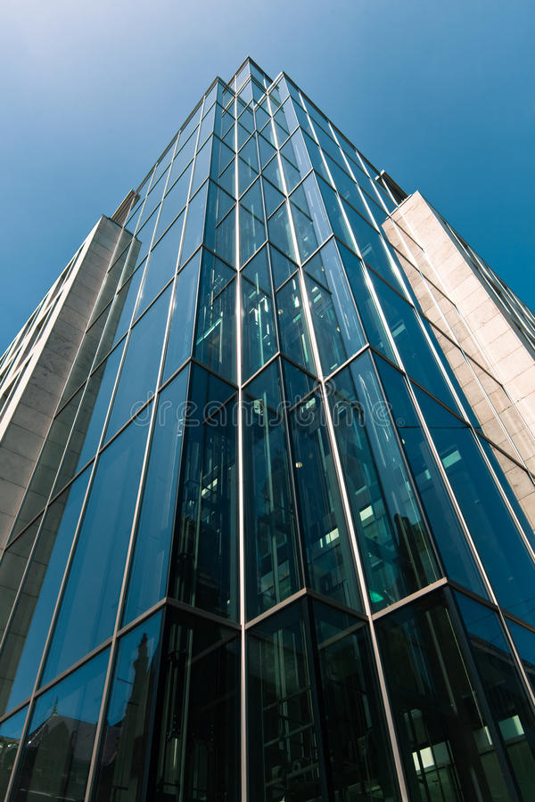 Download Office Buildings.  Modern Glass Silhouettes Of Skyscrapers Stock Photo - Image of headquarters, growth: 31233406