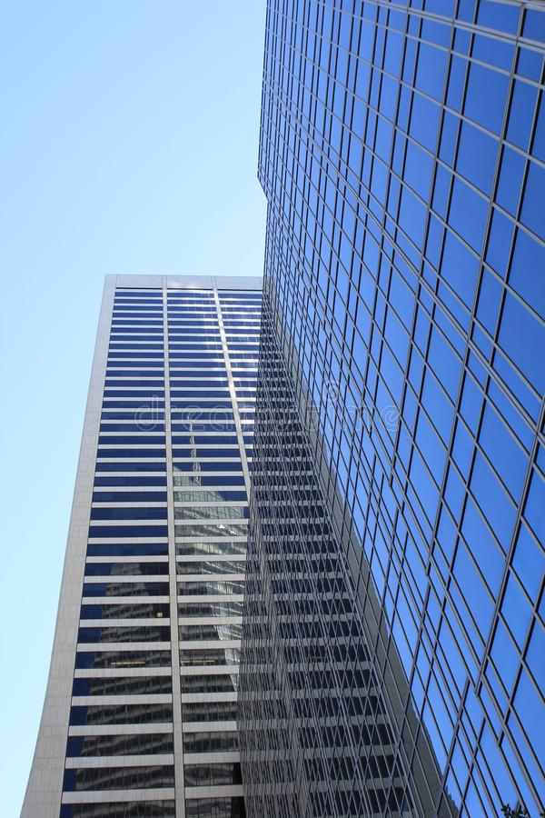 New York City Office Buildings royalty free stock photography
