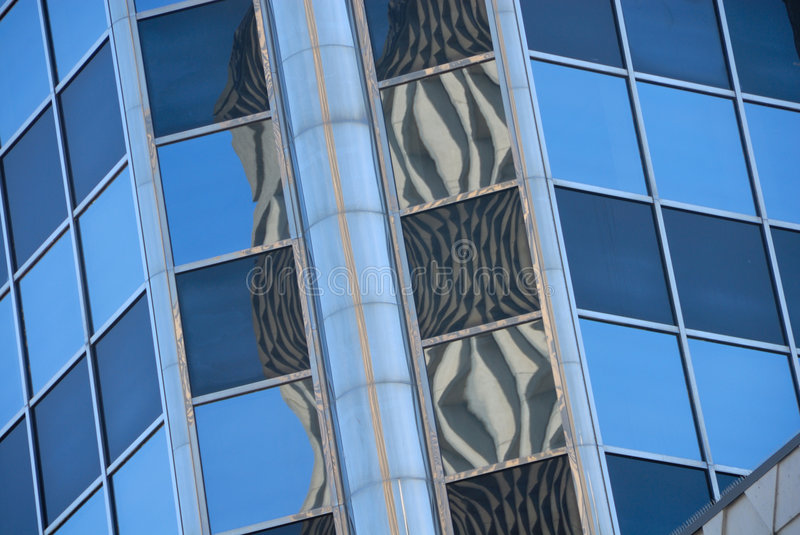 Download Office Buildings With Reflections Stock Image - Image: 6309461