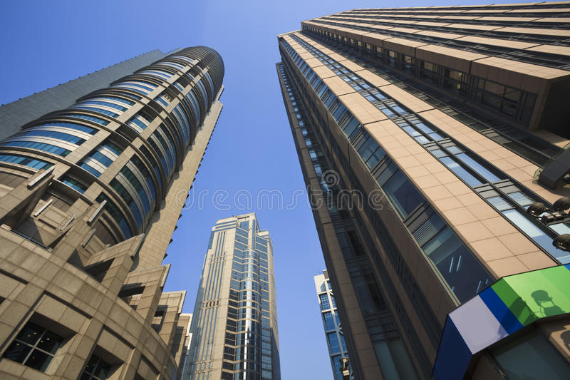 Download Office bulding stock photo. Image of modern, clouds, construction - 13307030