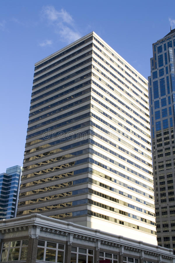 Office business buildings stock images