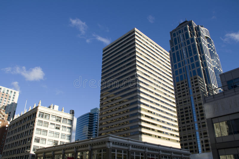 Office business buildings royalty free stock photo