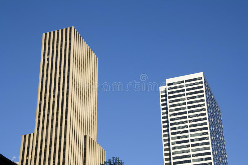 Office business buildings stock image