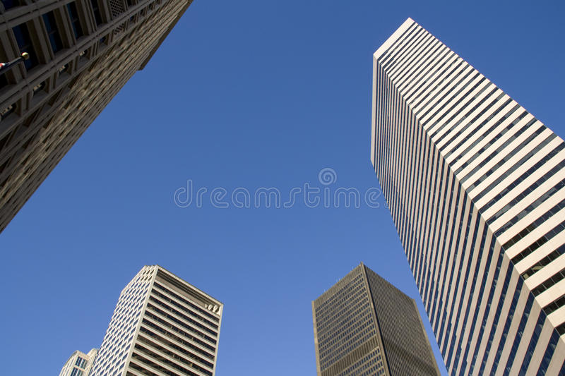 Office business buildings royalty free stock image