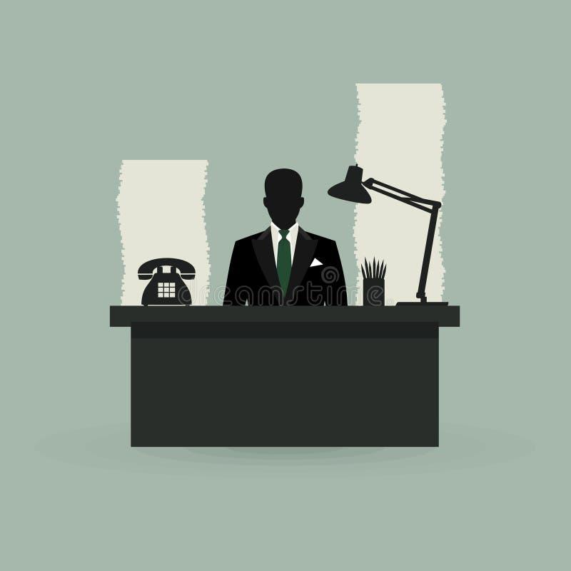 Office vector illustration