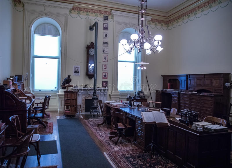 Office in the Capitol building stock photography