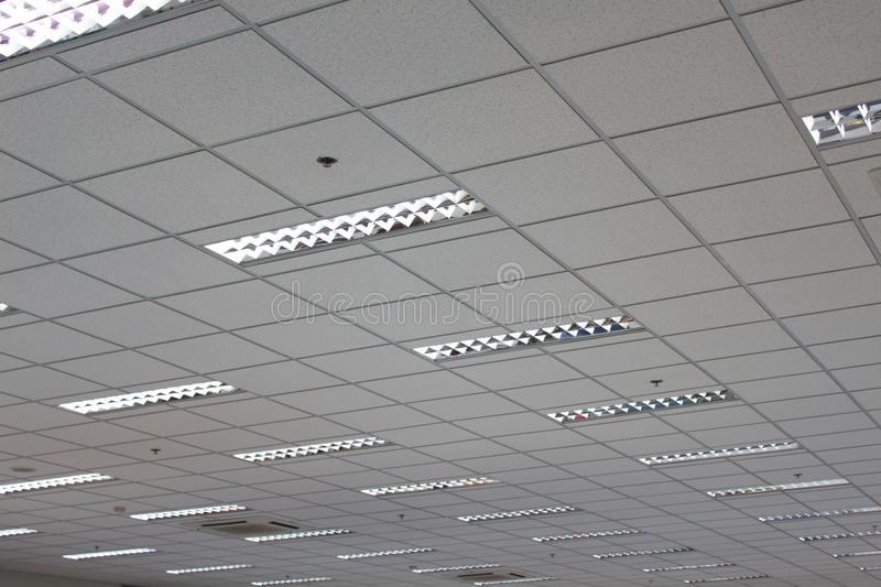 Office ceiling royalty free stock photos