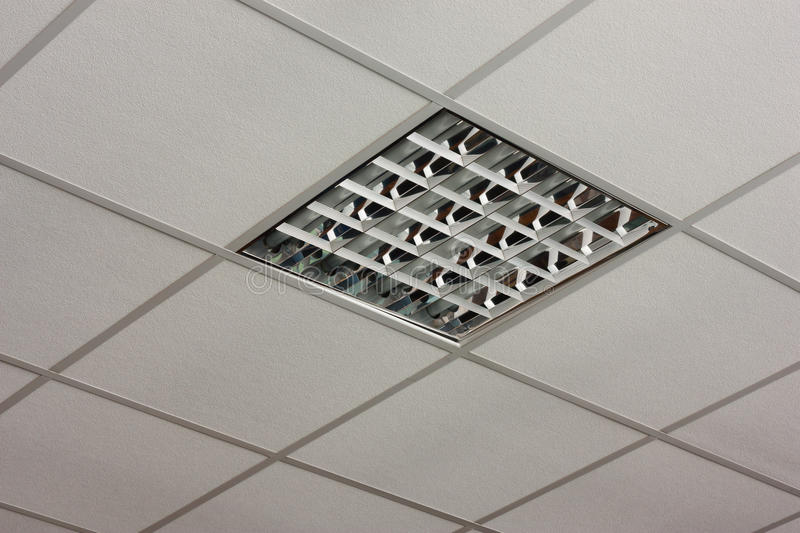 Download Office Ceiling Lamp Close-up View Stock Photo - Image: 26028274