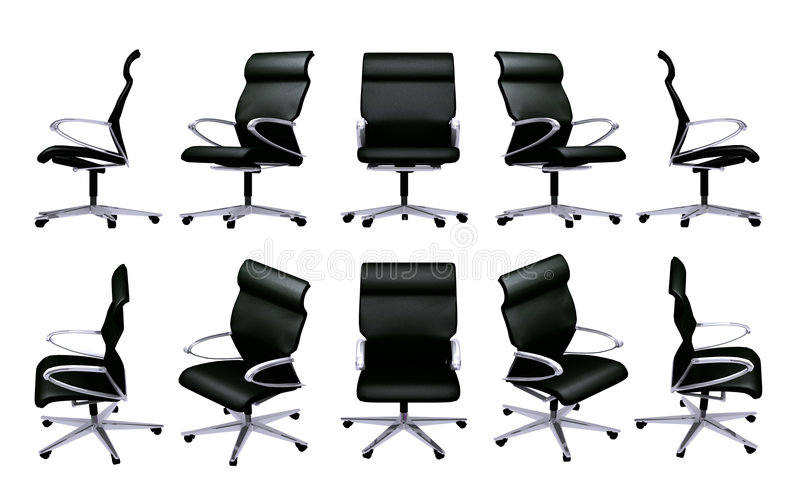 Office chair stock illustration