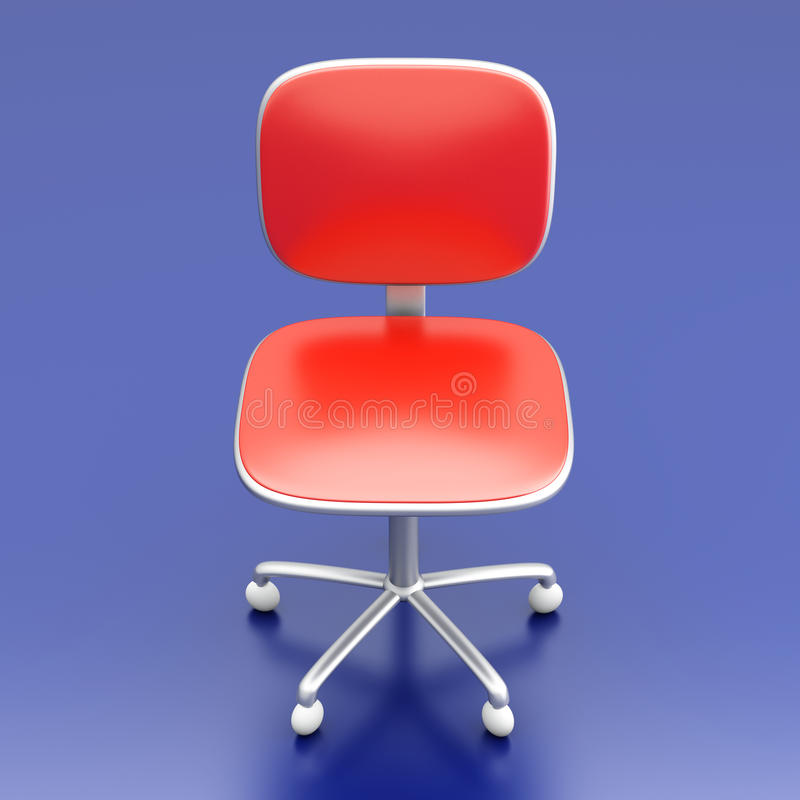 Download Office Chair stock illustration. Illustration of furniture - 26272203
