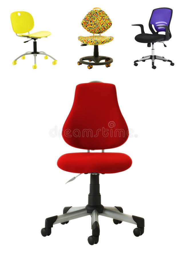 Download Office Chair Collection stock image. Image of background - 24378131
