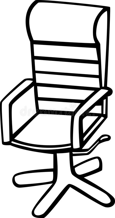 Schreibtischstuhl clipart  Office Chair Vector Illustration Stock Vector - Illustration: 6110112