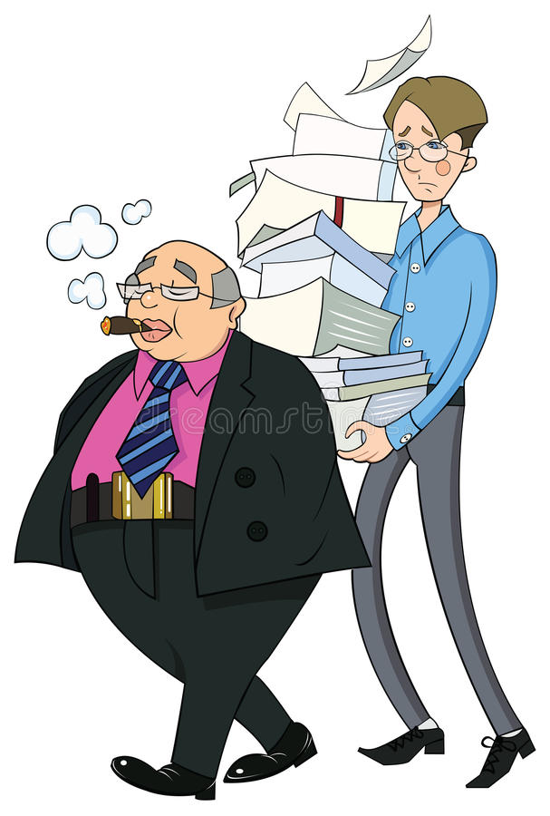 Office Clerks Royalty Free Stock Image