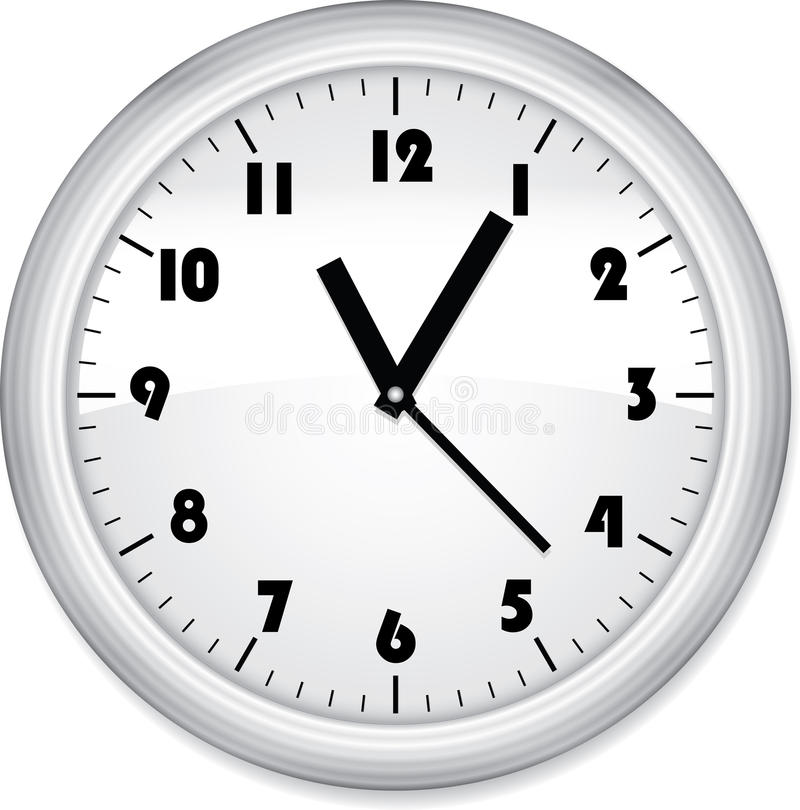 Download Office Clock Royalty Free Stock Photo - Image: 23768015