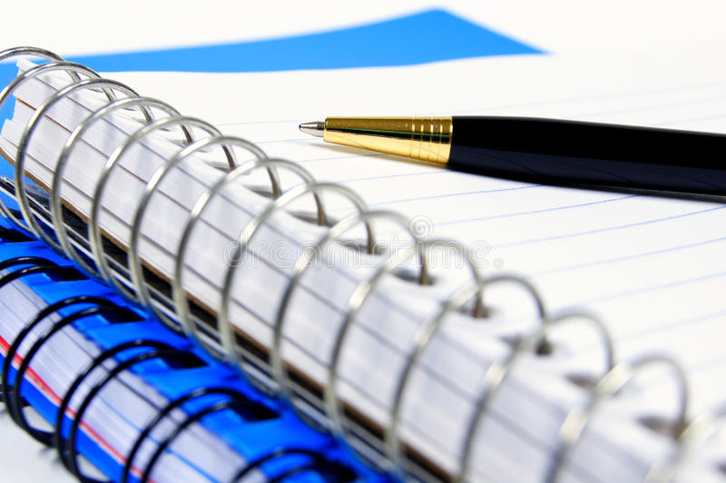 Office close up royalty free stock image