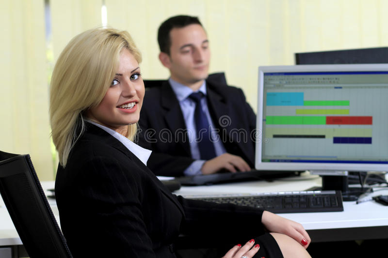 Office Colleagues Royalty Free Stock Photography
