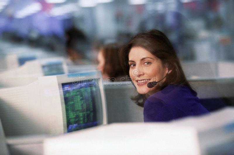 Office communications stock images