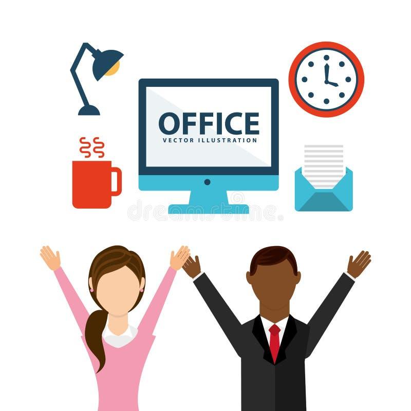 Office concept design. Vector illustration eps10 graphic vector illustration
