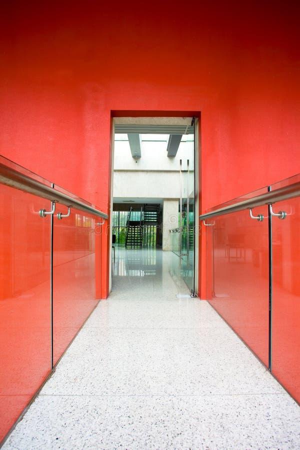 Download Office corridor to door stock photo. Image of modern - 20395470