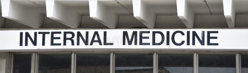 Office de médecine interne de docteur photographie stock libre de droits