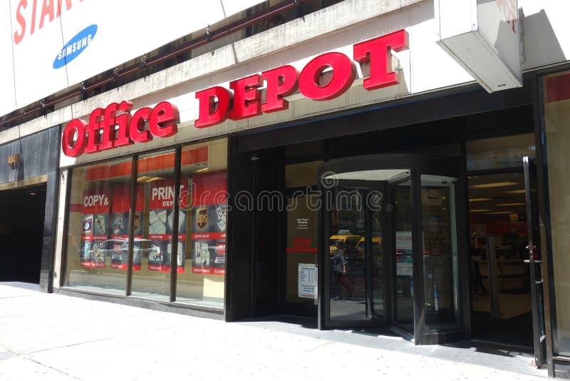 Office Depot stockfotos