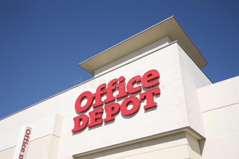 Office Depot lizenzfreie stockfotografie