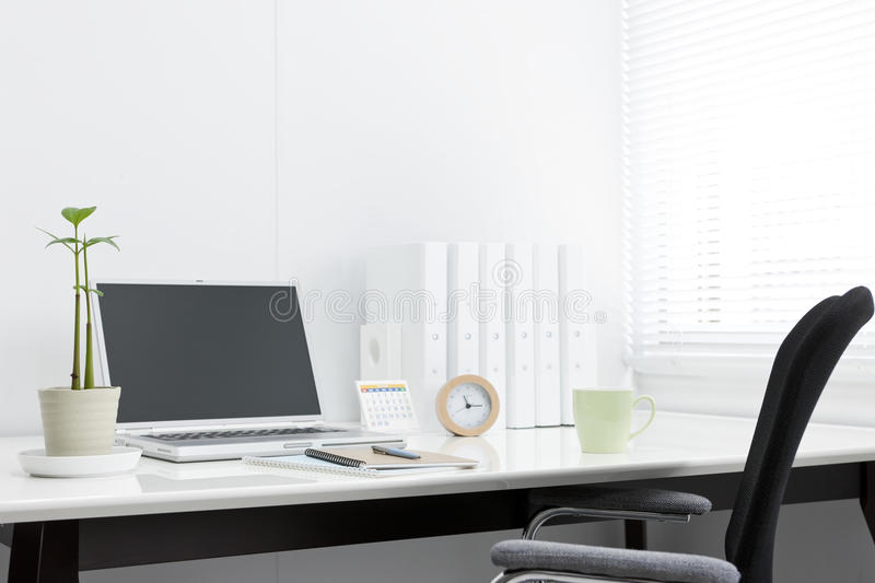 Office desk. It is a desk of the working person