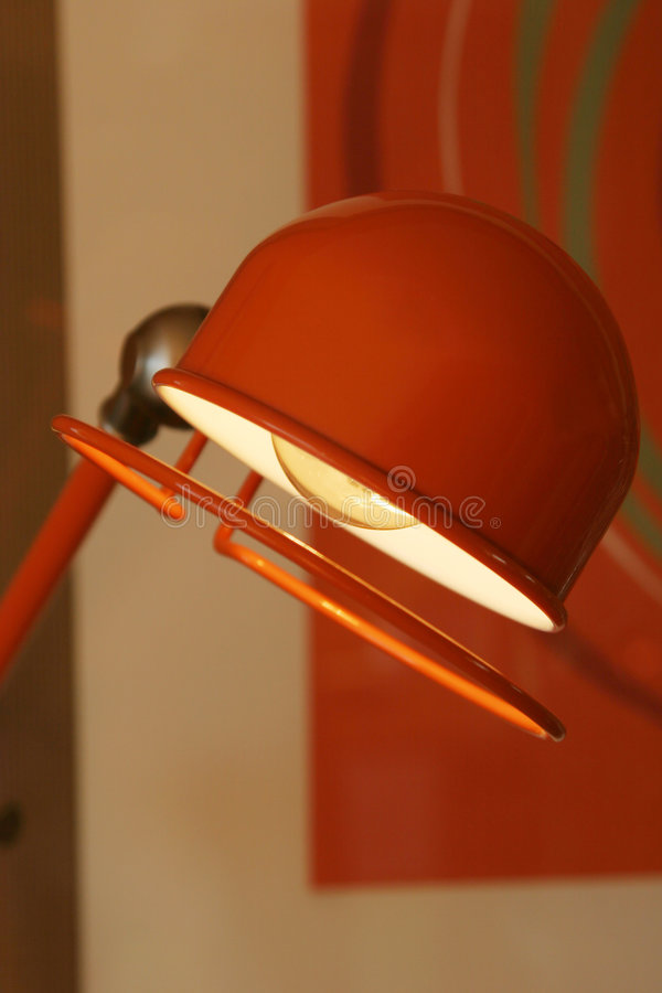 Office desk lamp royalty free stock images